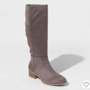Universal Thread Hilda Microsuede Scrunch Boot